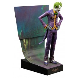 BATMAN ARKHAM ASYLUM THE JOKER PREMIUM MOTION STATUE 22 CM RESIN FIGURE