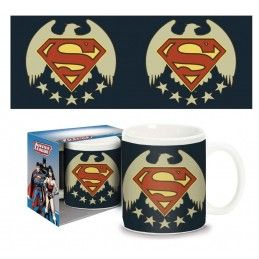 SUPERMAN FIVE STARS MUG TAZZA PYRAMID INTERNATIONAL