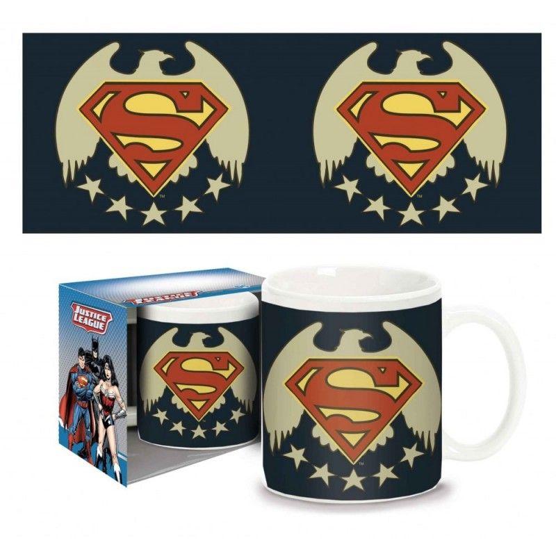 PYRAMID INTERNATIONAL SUPERMAN FIVE STARS MUG TAZZA