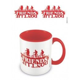 STRANGER THINGS FRIENDS DONT LIE MUG TAZZA PYRAMID INTERNATIONAL