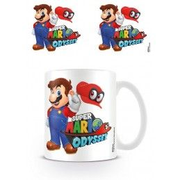 NINTENDO SUPER MARIO ODYSSEY MUG TAZZA IN CERAMICA PYRAMID INTERNATIONAL