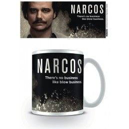 PYRAMID INTERNATIONAL NARCOS NO BUSINESS CERAMIC MUG TAZZA IN CERAMICA