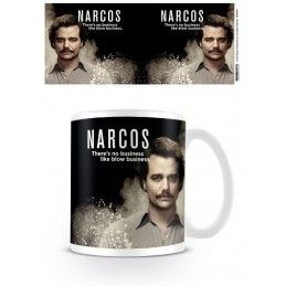 NARCOS NO BUSINESS 2 CERAMIC MUG TAZZA IN CERAMICA