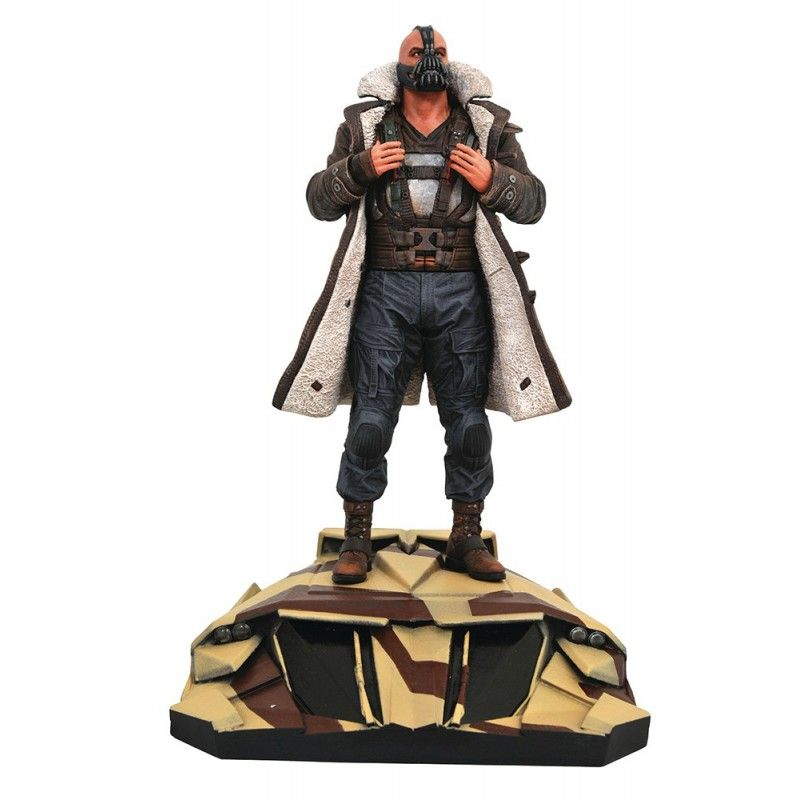 DIAMOND SELECT THE DARK KNIGHT RISES DC MOVIE GALLERY PVC STATUE BANE FIGURE 28 CM