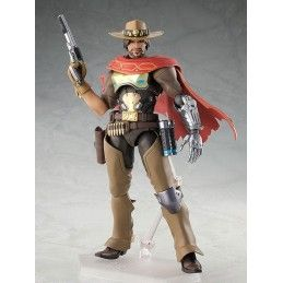 GOOD SMILE COMPANY OVERWATCH - MCCREE FIGMA 16 CM ACTION FIGURE