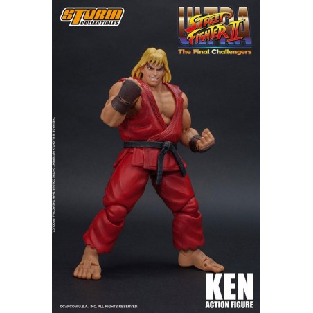 ULTRA STREET FIGHTER II: THE FINAL CHALLENGERS - KEN 1/12 ACTION FIGURE