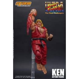 ULTRA STREET FIGHTER II: THE FINAL CHALLENGERS - KEN 1/12 ACTION FIGURE STORM COLLECTIBLES