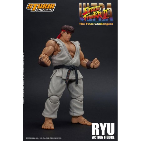 ULTRA STREET FIGHTER II: THE FINAL CHALLENGERS - RYU 1/12 ACTION FIGURE