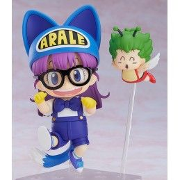 DR. SLUMP ARALE CAT EARS AND GATCHAN NENDOROID ACTION FIGURE 10 CM