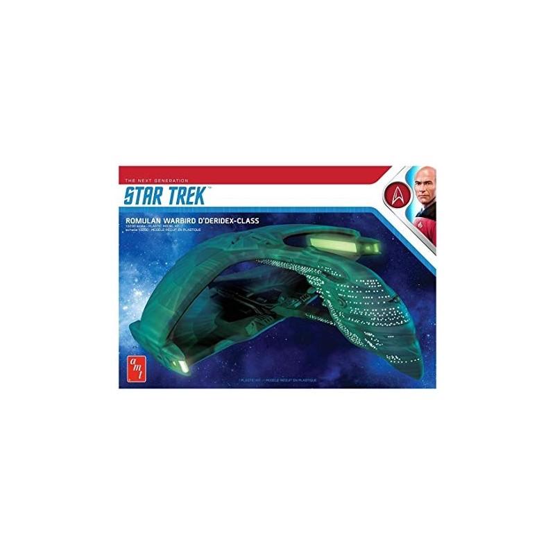 STAR TREK THE NEXT GENERATION - ROMULAN WARBIRD 28 CM MODEL KIT FIGURE