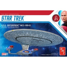 STAR TREK THE NEXT GENERATION - U.S.S. ENTERPRISE 27 CM MODEL KIT FIGURE AMT