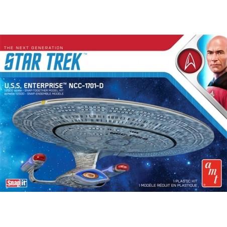 STAR TREK THE NEXT GENERATION - U.S.S. ENTERPRISE 27 CM MODEL KIT FIGURE