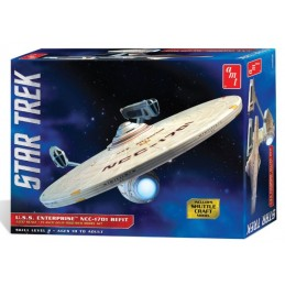 STAR TREK - U.S.S. ENTERPRISE 40 CM MODEL KIT FIGURE