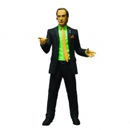 BREAKING BAD SAUL GOODMAN GREEN SHIRT ACTION FIGURE MEZCO TOYS