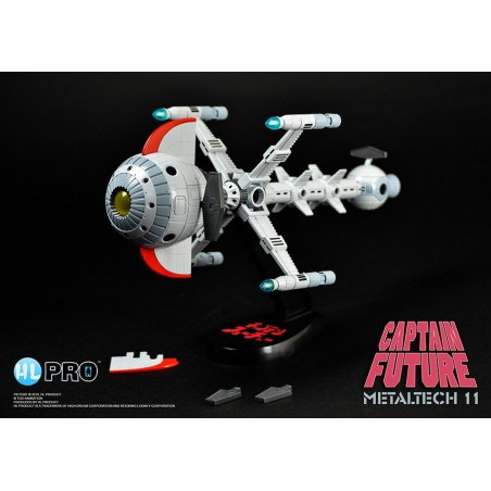 CAPITAN FUTURO CAPTAIN FUTURE FUTURE COMET METALTECH 11 DIE CAST FIGURE