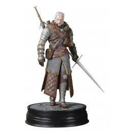 THE WITCHER 3 WILD HUNT - GERALT GRANDMASTER URSINE PVC STATUE FIGURE DARK HORSE