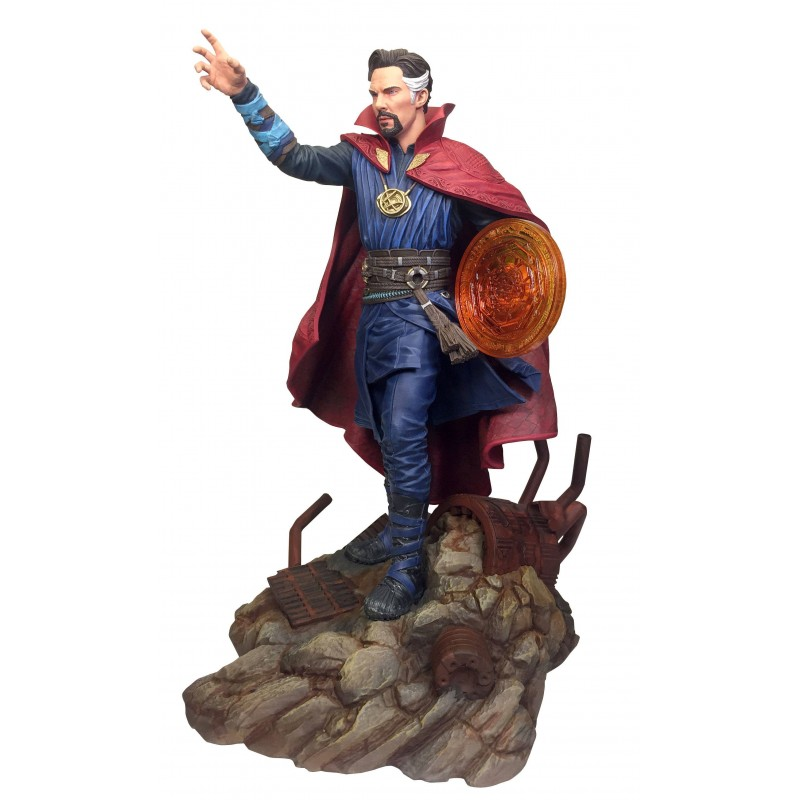 DIAMOND SELECT MARVEL GALLERY - AVENGERS 3 INFINITY WAR DOCTOR STRANGE 25CM STATUE FIGURE