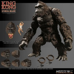 KING KONG OF SKULL ISLAND 1933 20 CM ACTION FIGURE MEZCO TOYS