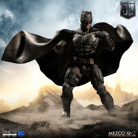 DC JUSTICE LEAGUE BATMAN TACTICAL SUIT CLOTH ONE:12 ACTION FIGURE