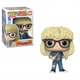 FUNKO POP! WAYNE'S WORLD FUSI DI TESTA GARTH BOBBLE HEAD KNOCKER FIGURE