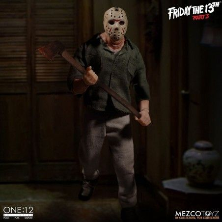 FRIDAY THE 13TH - JASON VOORHEES CLOTH ONE:12 ACTION FIGURE