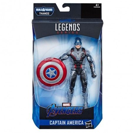 MARVEL LEGENDS AVENGERS ENDGAME THANOS - CAPTAIN AMERICA ACTION FIGURE