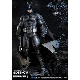 BATMAN ARKHAM ORIGINS - BATMAN RESIN 86 CM STATUE FIGURE IN RESINA IRON STUDIOS