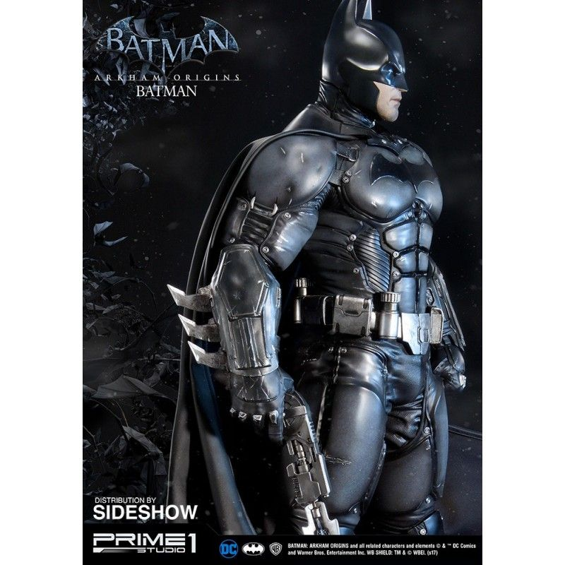 IRON STUDIOS BATMAN ARKHAM ORIGINS - BATMAN RESIN 86 CM STATUE FIGURE IN RESINA