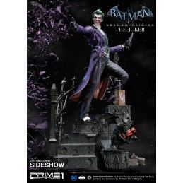 BATMAN ARKHAM ORIGINS - THE JOKER RESIN 86 CM STATUE FIGURE IN RESINA IRON STUDIOS