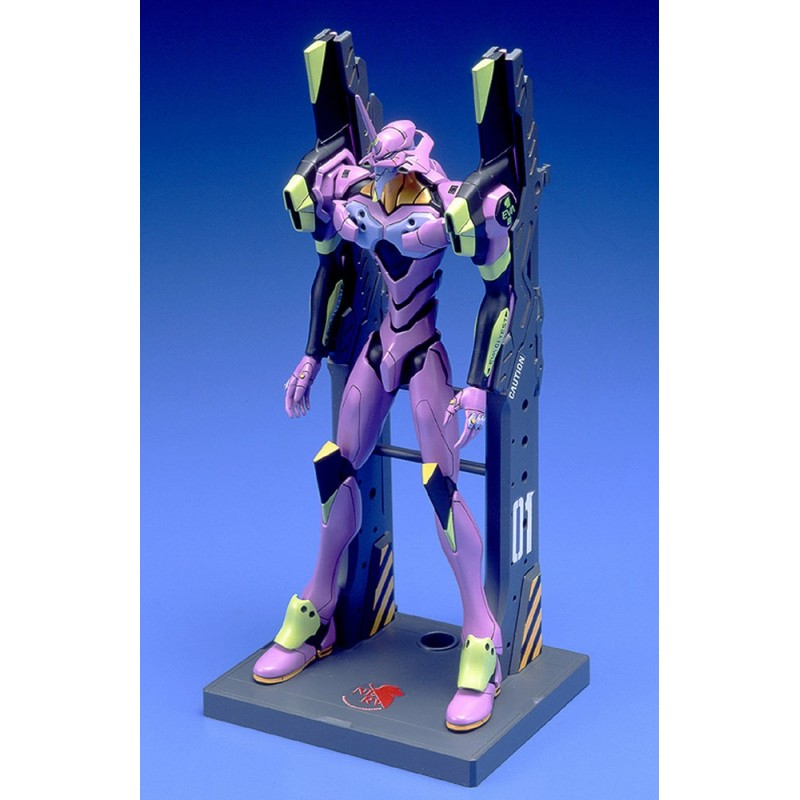 EVANGELION EVA 01 TEST TYPE MODEL KIT ACTION FIGURE BANDAI