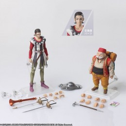 DRAGON QUEST XI ECHOES ELUSIVE AGE - SYLVANDO AND RAB ACTION FIGURE