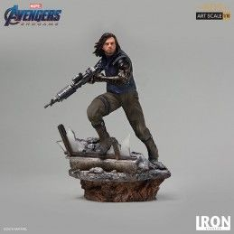 AVENGERS ENDGAME - WINTER SOLDIER BDS ART SCALE 1/10 DELUXE 20 CM STATUE FIGURE IRON STUDIOS