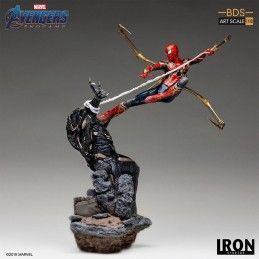 AVENGERS ENDGAME - IRON SPIDERMAN VS OUTRIDER BDS ART SCALE 1/10 STATUE 33 CM IRON STUDIOS