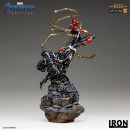 AVENGERS ENDGAME - IRON SPIDERMAN VS OUTRIDER BDS ART SCALE 1/10 STATUE 33 CM
