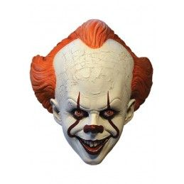 TRICK OR TREAT STUDIOS IT 2017 PENNYWISE REGULAR RUBBER MASK MASCHERA IN GOMMA