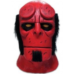 HELLBOY COMICS RUBBER MASK MASCHERA IN GOMMA TRICK OR TREAT STUDIOS