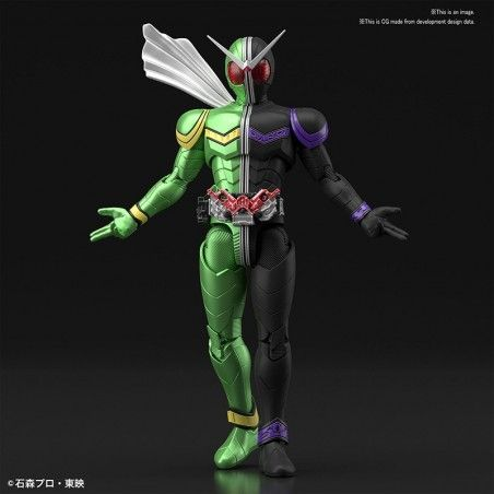 FIGURE RISE KAMEN RIDER DOUBLE CYCLONE MODEL KIT ACTION FIGURE
