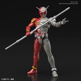 BANDAI FIGURE RISE KAMEN RIDER DOUBLE HEATMETAL MODEL KIT ACTION FIGURE