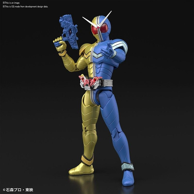 FIGURE RISE KAMEN RIDER DOUBLE LUNATRIGGER MODEL KIT ACTION FIGURE BANDAI