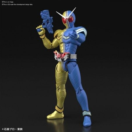 FIGURE RISE KAMEN RIDER DOUBLE LUNATRIGGER MODEL KIT ACTION FIGURE