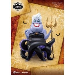 BEAST KINGDOM DISNEY VILLAINS - URSULA MINI EGG ATTACK FIGURE 8 CM