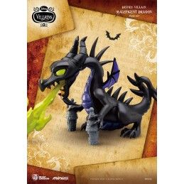 BEAST KINGDOM DISNEY VILLAINS - MALEFICENT DRAGON MINI EGG ATTACK FIGURE 9 CM