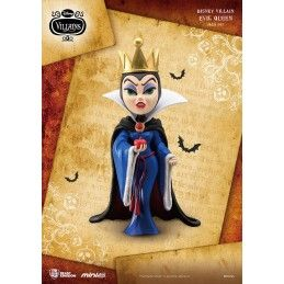 BEAST KINGDOM DISNEY VILLAINS - EVIL QUEEN MINI EGG ATTACK FIGURE 8 CM