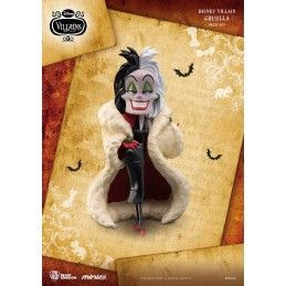DISNEY VILLAINS - CRUDELIA MINI EGG ATTACK FIGURE 8 CM BEAST KINGDOM