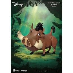 BEAST KINGDOM DISNEY BEST FRIEND - PUMBAA MINI EGG ATTACK FIGURE 8 CM