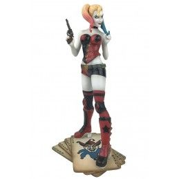 DIAMOND SELECT DC GALLERY HARLEY QUINN REBIRTH 25CM FIGURE STATUE