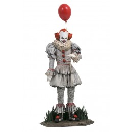 IT CHAPTER 2 GALLERY - PENNYWISE 25CM FIGURE STATUE DIAMOND SELECT