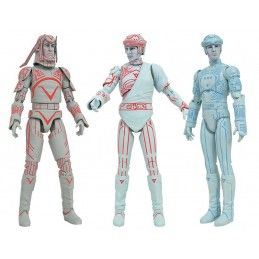 TRON 1982 SELECT SERIES 1 SET ACTION FIGURE