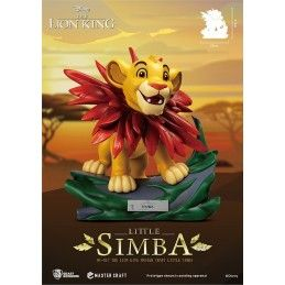 THE LION KING - IL RE LEONE - LITTLE SIMBA 30 CM FIGURE STATUE BEAST KINGDOM