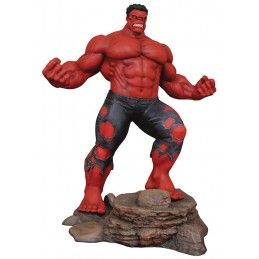 MARVEL GALLERY RED HULK STATUE 25 CM FIGURE